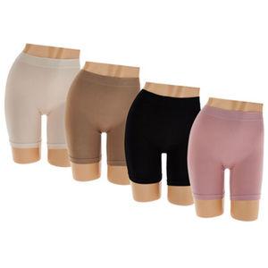 4 Breezies Seamless Long Leg Panties Large NEW P85
